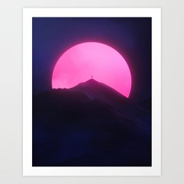 Without You (New Sun II) Art Print