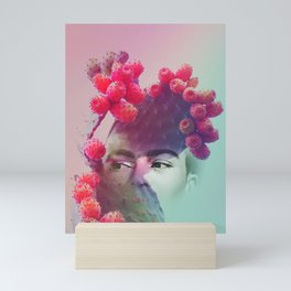 Succulent Frida #buyart #surreal Mini Art Print