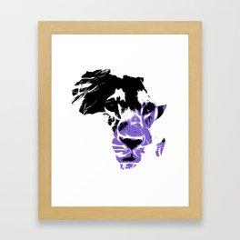 Lion Heart Africa Framed Art Print