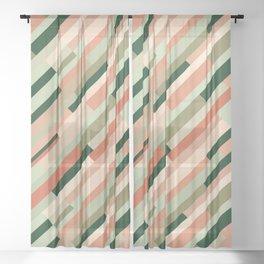 Retrometry XI Sheer Curtain