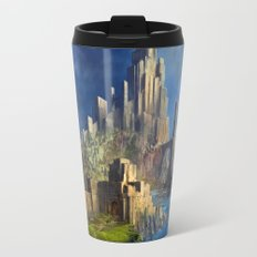 Old School Castle Travel Mug