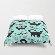 Fabulous Felines Duvet Cover