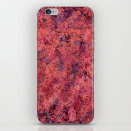 Coral Clouds iPhone Skin
