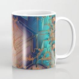 Ayahuasca - Geometric Design - Fractal - Manafold Art Coffee Mug