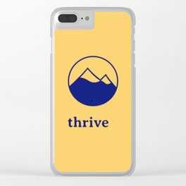 Thrive Mountain Clear iPhone Case