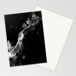 SNOW HILLSIDE1 Stationery Cards