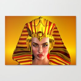 The Face Of Egypt Canvas Print