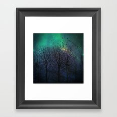 Moody Blues Framed Art Print