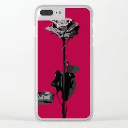 Deadroses Blackbear Clear iPhone Case