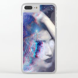 Abstract Thoughts Clear iPhone Case