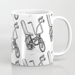 Cartoon Retro Mod Stingray Eyeball Shifter Muscle Bike Bicycle Coffee Mug