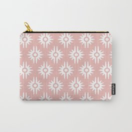 Mid Century Modern Bang Pattern 271 Dust Rose Carry-All Pouch