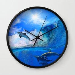 Hanging 10 Wall Clock