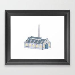 Little Factory Framed Art Print