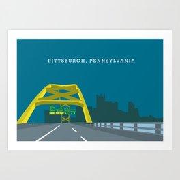 Pittsburgh Entrance Art Print
