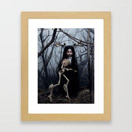Wendigo in the Woods Framed Art Print