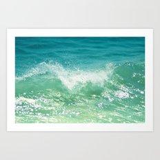 Nature of the sea... Art Print