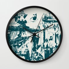 Other side of the glass. Wall Clock