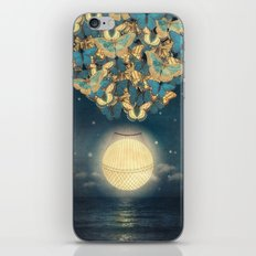 The Rising Moon iPhone & iPod Skin