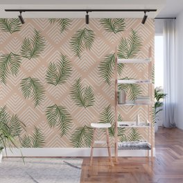 Geometries & Palms #society6 #decor #buyart Wall Mural