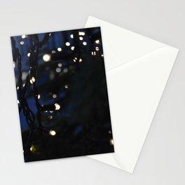 Tree Lights Stationery Cards