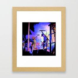 Jesse Lacey- Brand New Concert Framed Art Print