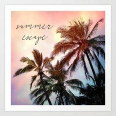 summer escape Art Print