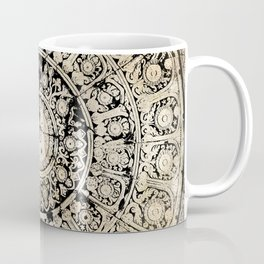 BLACK & GOLD MANDALA ARMARRI OKRE Coffee Mug