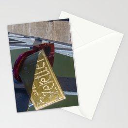Love Lock Bridge Szeretlek Hungarian I Love You Stationery Cards