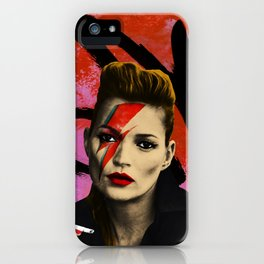 Kate Bowie iPhone Case