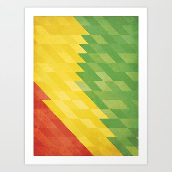 R/Y/G Art Print