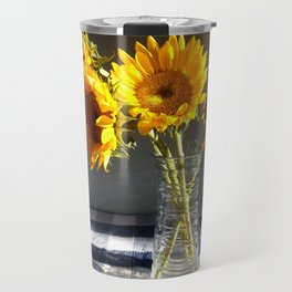 Sunflower sunshine Travel Mug