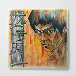Enter the Dragon Metal Print