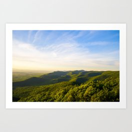 turk mountain Art Print