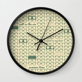 summer time Wall Clock