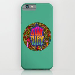 Stay Trippy iPhone Case
