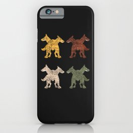 Cerberus Sixties Sunshine iPhone Case