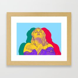 Keeping Strength Framed Art Print