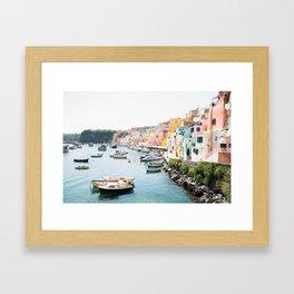Procida Framed Art Print