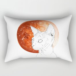 Sphynx Moon Rectangular Pillow