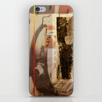 hemingway iPhone & iPod Skins featuring Been There Done That < The NO Series (Brown) by Wayne Edson Bryan