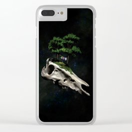 The Third Sanctuary in Space Clear iPhone Case