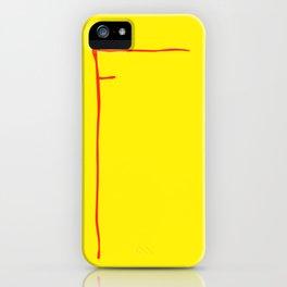 F McDonalds iPhone Case