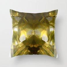 Aquatic Plantlife Throw Pillow