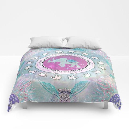 MAGIC HAPPY ELEPHANT Comforters