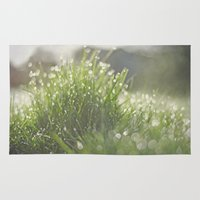 grass Area & Throw Rugs featuring Grass by Pure Nature Photos