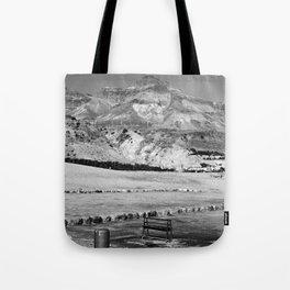 Deadsea view Tote Bag