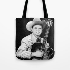 Merle Travis III Tote Bag