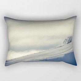 Above the Clouds - Mt. Hood Rectangular Pillow