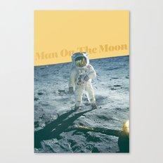 Man On The Moon Canvas Print